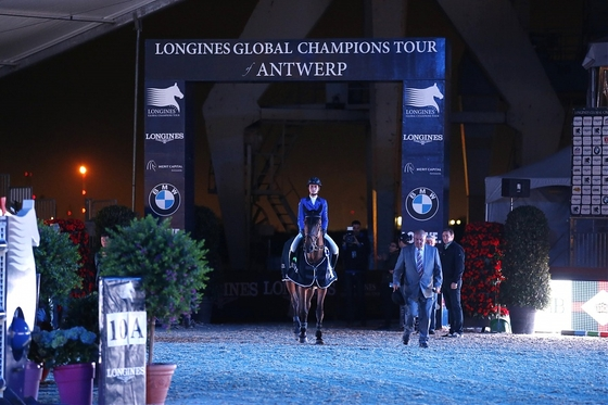 Longines Global Champions Tour. Антверпен.